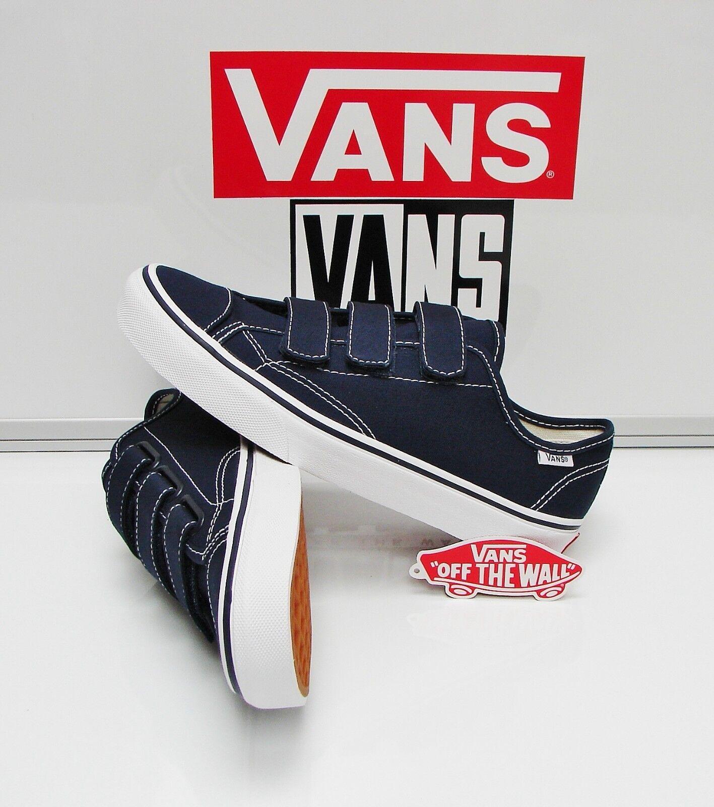 Vans Style 23 V Canvas Dress bluees VN0A38GCF8R Men's Size  7