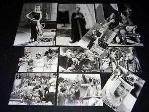 coluche-DEUX-HEURES-jean-yanne-photos-presse-argentique-cinema-tournage