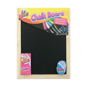 Artbox Chalk Board 23 x 30 cm Set A4 Chalks Board Eraser Rubber(5249)