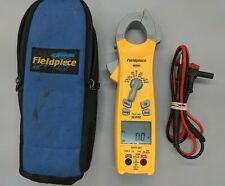 Fieldpiece Sc440 True Rms Clamp Meter With Leads Amp Carrying Bag