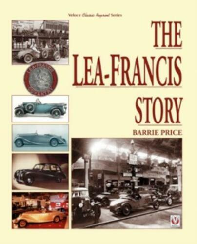 "The Lea-Francis Story /""Leaf/"" Motorsports New Book"