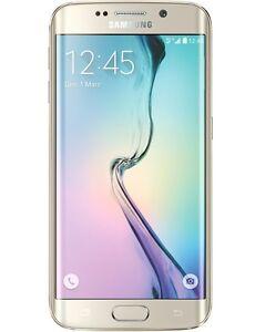 Samsung Galaxy S6 Edge 32 Go Or  Débloqué tout opérateur Bon état SM-G925FZD
