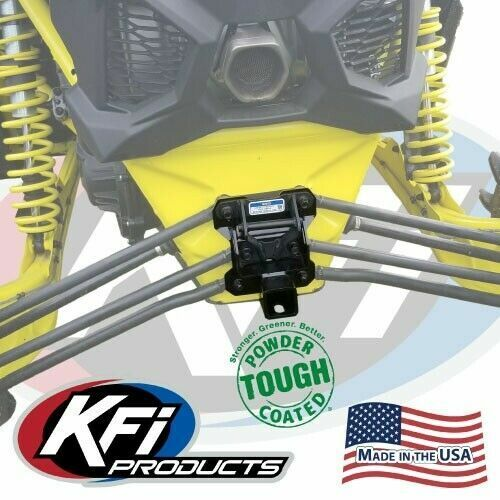"""KFI Rear 2/"""" Receiver Hitch for 2016-2019 Can-Am Maverick X3 Turbo"""