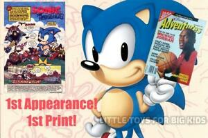 DISNEY Adventures Magazine Vol 2 # 1 November 1991 1st Sonic the Hedgehog Promo