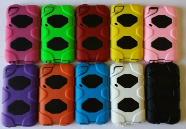 BRAND NEW Armor Heavy Duty Protective Shock Proof Case for Ipod Touch 4 4th Gen