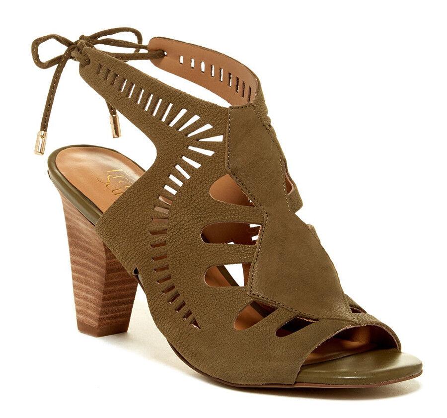 New Franco Sarto Carolina Cutout Leather Women shoes
