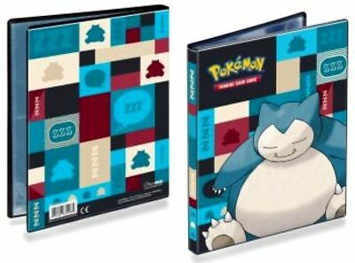 Pokemon Snorlax 4 pocket portfolio album Binder holds 40-80 cards ultra pro
