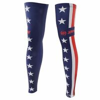 Star Flag Cycling Clothing Bike Bicycle Leg Warmer Guard Knee Uv Protection