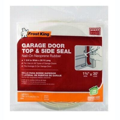 Frost King Sg30wh Vinyl Garage Door Top Amp Side Weather