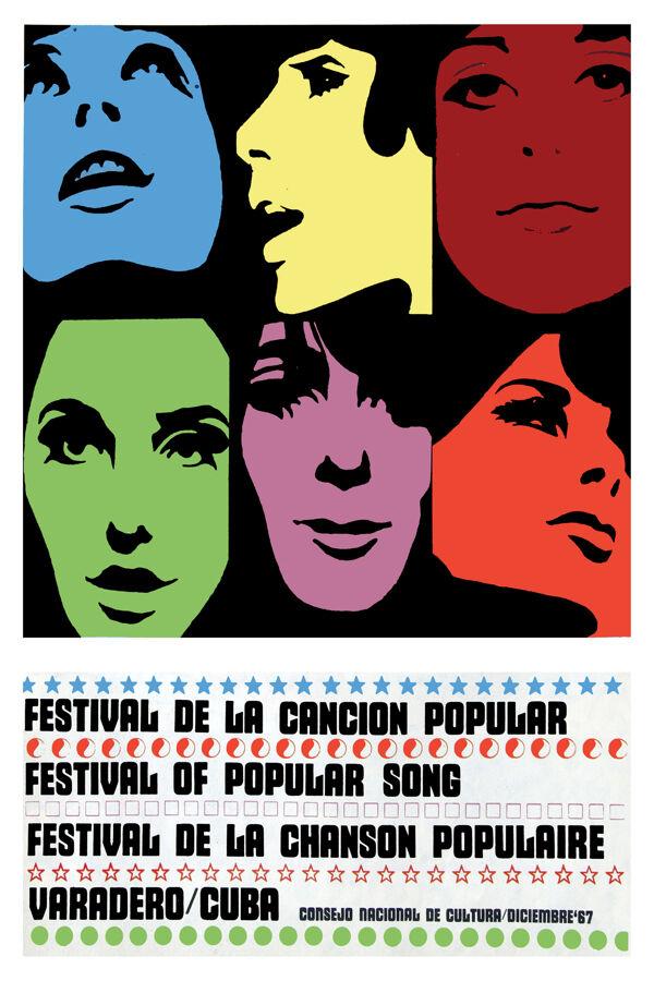 3165.Festival of Popular Song,music Vintage POSTER.Decorative interior wall Art.