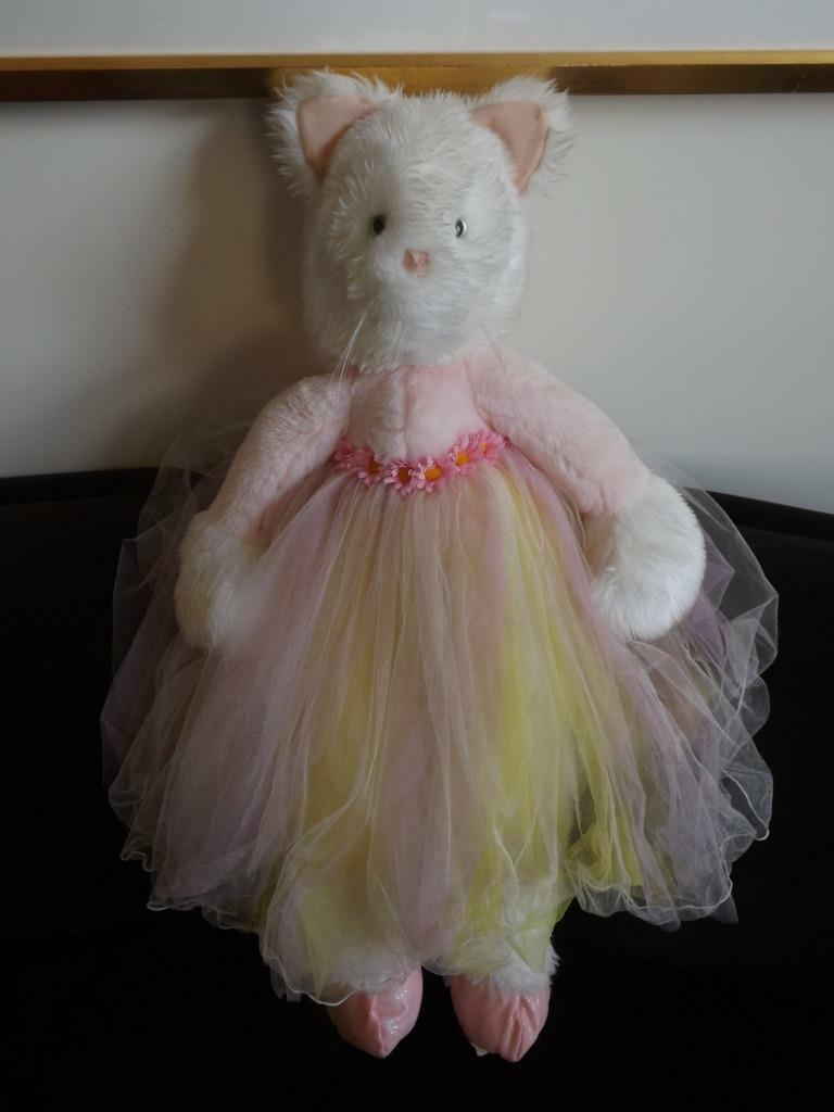 MWT Phebe Philips Huge Dancing Cat Ballerina Tutulina Straps To Your Schuhes 31