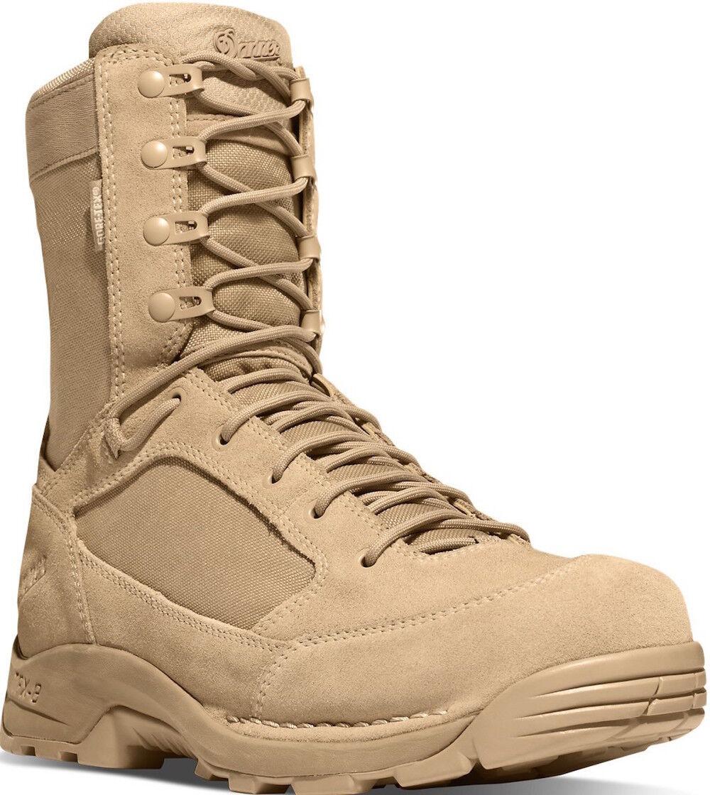 Nuevo Danner TFX G3 Desierto botas áspero-out, 8 , Cuero Tostado nylon Gore-Tex 24307