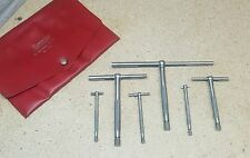 """Lufkin No. 79-L telescoping gages - set of 6 - 5/16"""" to 6"""""""
