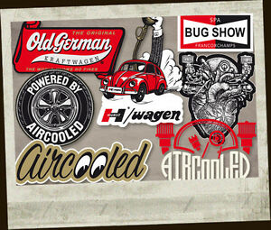 Hurst Bug Wagen sticker decal old school shifter aircooled beetle bus 5.25/""