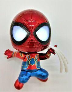 Amazing-Spiderman-avec-Web-pieds-magnetiques-et-DEL-Yeux-piles-incluses