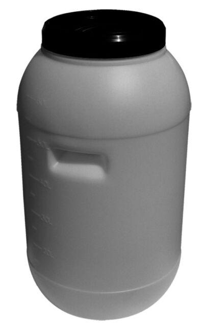 60 lt Round Plastic Drum Barrel Home Brew Water Storage Food Grade