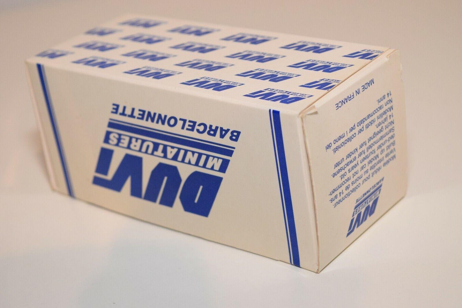 FF 1 43 DUVI DUVI DUVI SO496 SIMCA ARONDE P60 ETOILE SIX blu MINT BOXED 997426