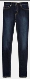 Jack Wills Fernham High Waisted Super Skinny Jeans Womens Size UK 25W 28L*REF130
