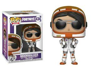 NEW OFFICIAL FUNKO POP GAMES FORTNITE MOONWALKER #434 VINYL FIGURE