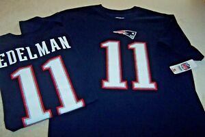 Details about #11 JULIAN EDELMAN NEW ENGLAND PATRIOTS JERSEY T-SHIRT NFL PLAYERS ADULT XL nwt
