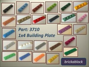 FREE POSTAGE SELECT COLOUR Part 3710 10 x NEW LEGO Plates 1x4