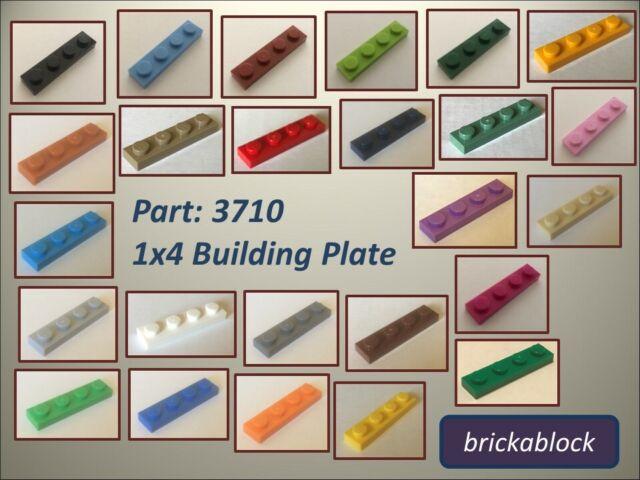 NEW 3710 Part Piece City Creator FREE P/&P ! 20x LEGO Orange 1x4 Plate