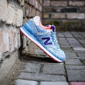 Women's New Balance NB 574 Summer Waves Sneakers Running Shoes WL574SIC 5.5-8.5