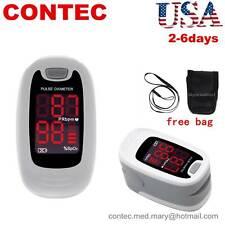 Fingertip Pulse Oximeter Spo2 Pulse Rate Monitor Oxymeter Blood Oxigen Meter New