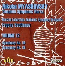 Evgeny Svetlanov - Symphony 16 & 19 [New CD]