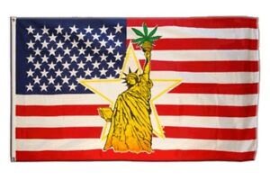 Fahne USA Georgia Flagge amerikanische Hissflagge 90x150cm