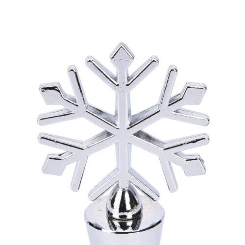 Creative Snowflake Alloy Red Wine Stopper Christmas Gift Wine Bottle Stoppe X