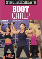 Weight Training DVD - CATHE FRIEDRICH Strong and Sweaty BOOT CAMP!