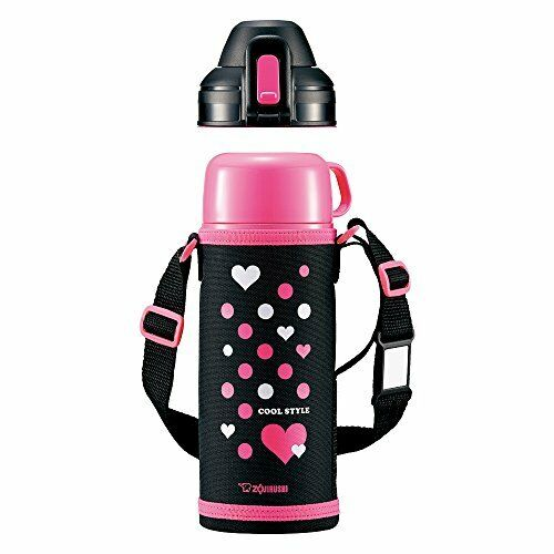 Zojirushi Stainless Thermos Bouteille 0.82 l (Rose Noir) SP-HB08-BP