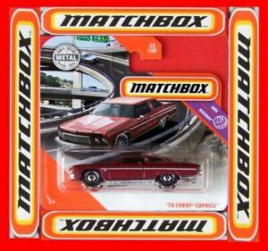 MATCHBOX-2020-75-CHEVY-CAPRICE-53-100-NEU-amp-OVP