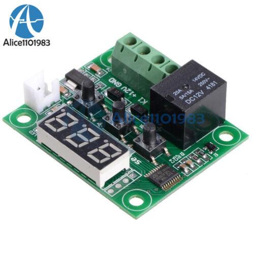 50-110°C Blue W1209 Digital Thermostat Temperature Control Switch Sensor DC 12V