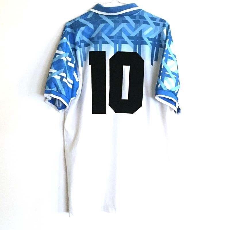 Shirt maillot maglia trikot SSC NAPOLI 199495 N°10 vintage vtg