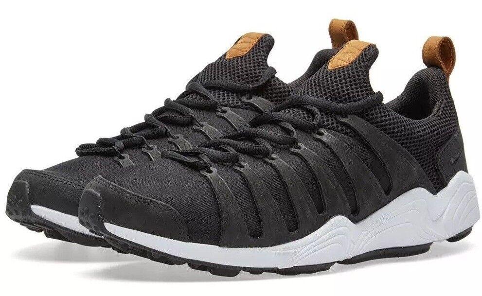 Men's Nike Air Zoom Spirimic Casual Shoes, 881983 003 Sizes 8.5-14 Black/Hazelnu