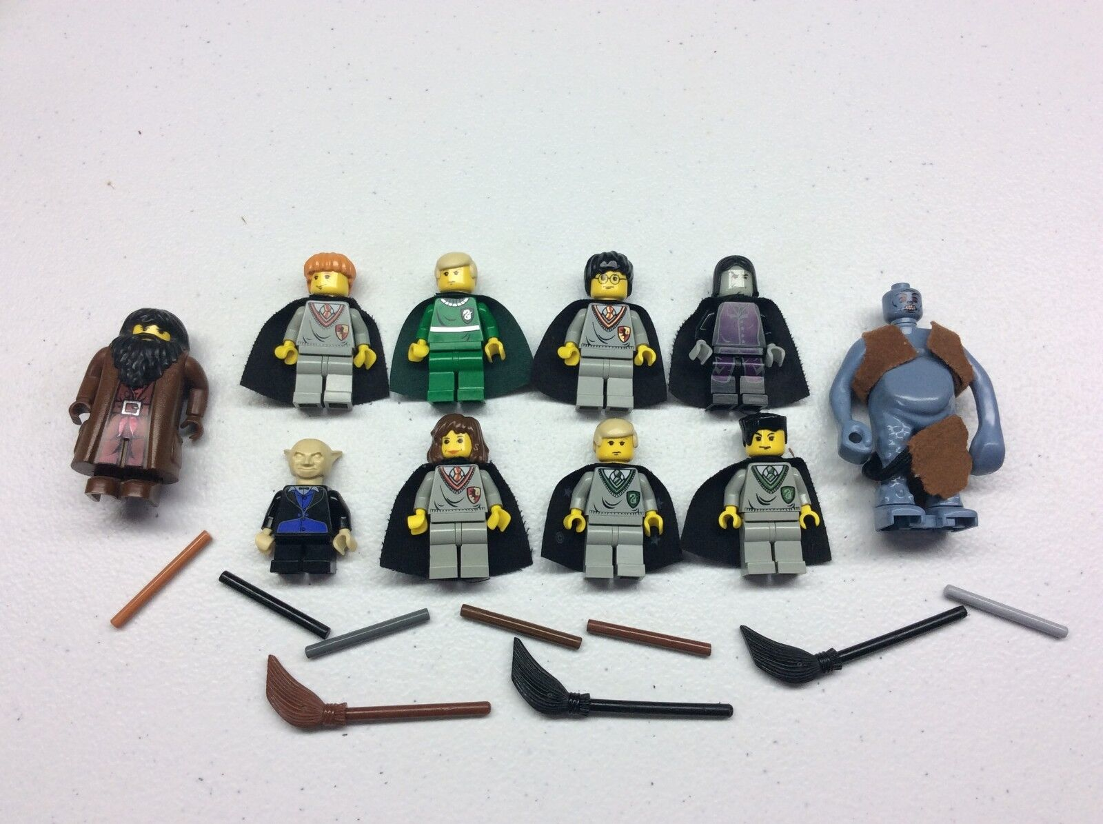 LEGO Harry Potter MINIFIG LOT of 10 MINIFIGS Ron Snape Troll Lot B480B