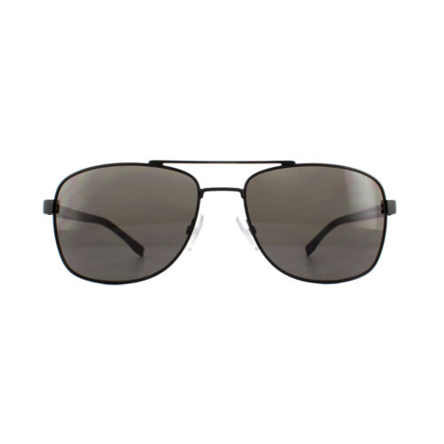 Hugo Boss Sunglasses 0762//S 10G NR Matte Black Grey