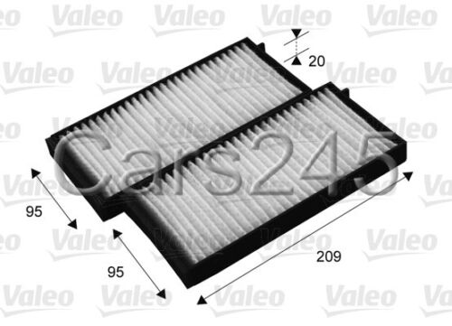 Ssangyong Rodius Particulate Cabin Air Filters x2 VALEO Title 2005