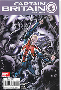 CAPTAIN-BRITAIN-N-8-Albo-in-Americano