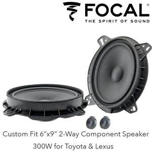 "Focal ISTOY690 - Custom Fit 6x9"" 2-Way Component Speaker 300W for Toyota & Lexus"