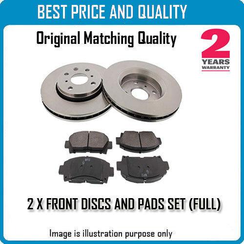Frente brke los discos y almohadillas para VW OEM Calidad 785848