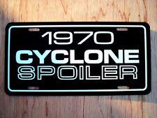 1970 Mercury Cyclone Spoiler License Plate Tag 70 429 Super Cobra Jet