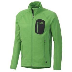 f9f9457737ac Image is loading Adidas-Terrex-Cocona-Fleece-Jacket-M-Real-Green-