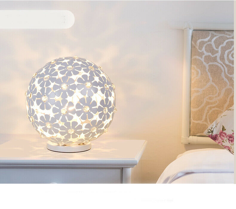 E234 Modern Style Push Button Switch Bedroom Bedside Table Lamp 2525CM A