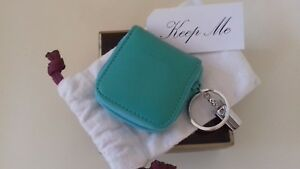 New In Purse Penhaligon's Ring Leather Key Box Brand turquoise RRwY0Cq