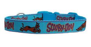 Scooby Doo Allungabile.Dettagli Su Blu Scooby Doo Medio Grande Cane Collare O Set Guinzaglio 2 5cm Meta