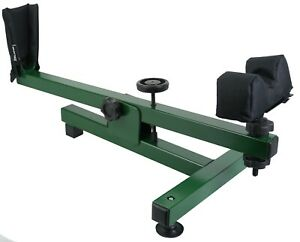 Rifle-Rest-Shooting-Bench-Maintenance-Air-Gun-Scope-Zeroing-Cleaning-GREEN