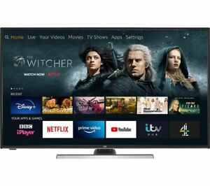 "JVC LT-55CF890 Fire TV Edition 55"" Smart 4K Ultra HD HDR LED TV Amazon Alexa"